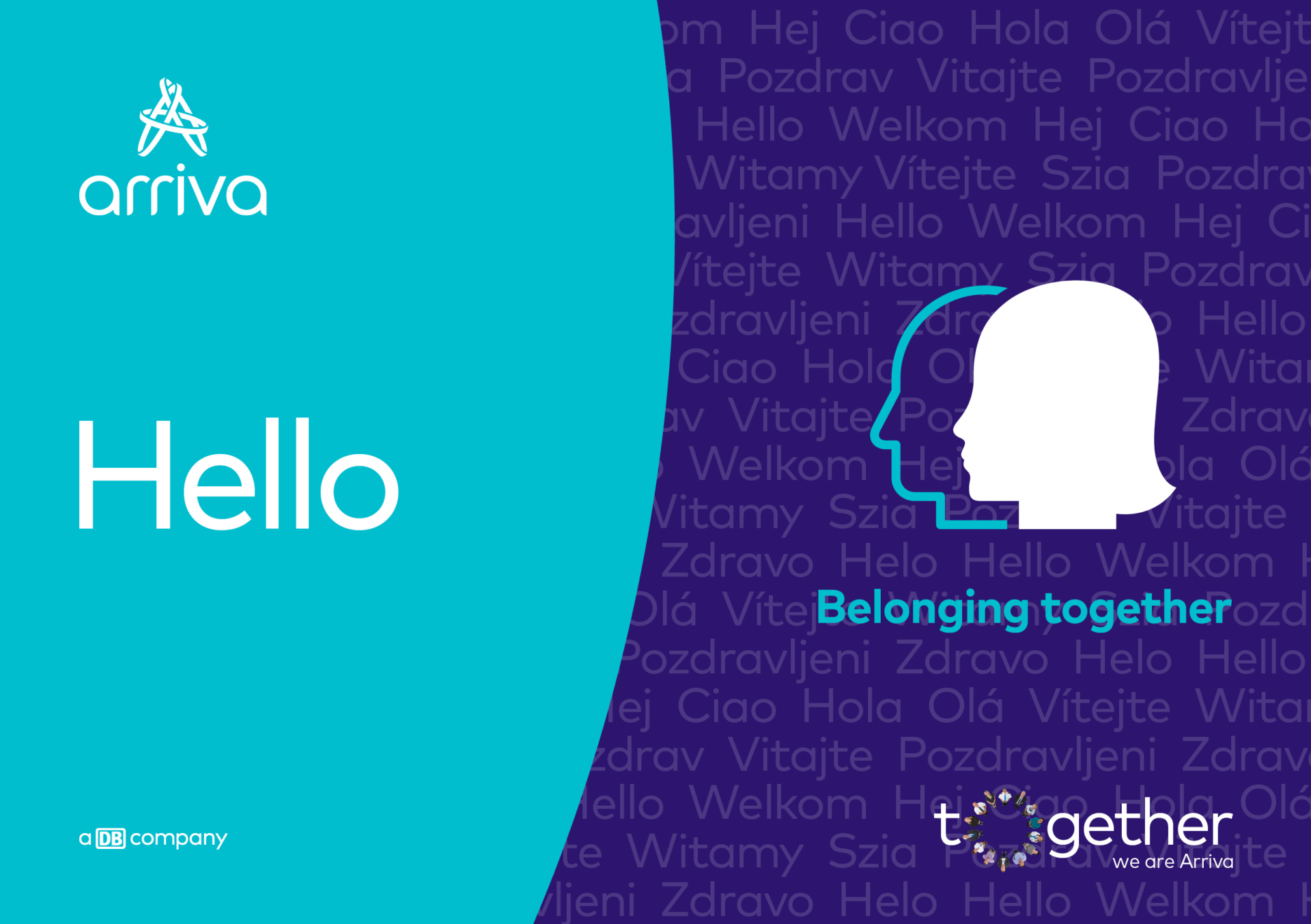 Naša blagovna znamka delodajalca –Skupaj smo Arriva/Together we are Arriva– opisuje Arrivo kot delodajalca.Čeprav imamo veliko samostojnih podjetij v kar 14-ih različnih državah po Evropi, smo na veliko načinov povezani. In prav to predstavlja pravo moč, vrednost in konkurenčno prednost skupine. Skupaj delujemo kot skupina Arriva.